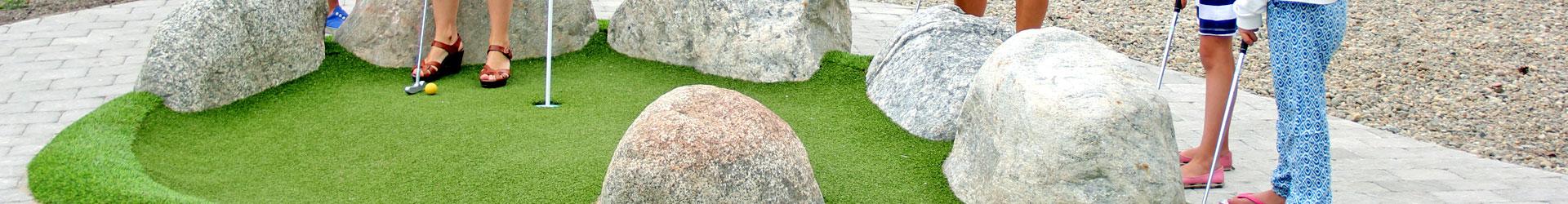 Projet de création de terrain de Minigolf