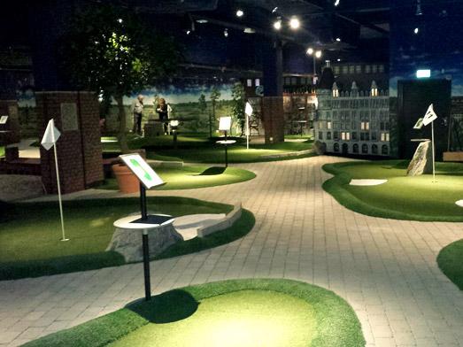 Créer un parcours de minigolf dans un Hôtel / Restaurant