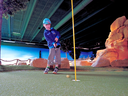 Investir dans un mini golf pour un Hôtel Restaurant